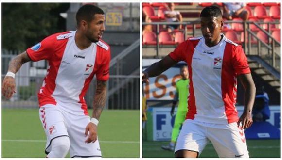 Miguel Araujo y Sergio Peña aún no se unen a la pretemporada del FC Emmen. (Foto: FC Emmen)