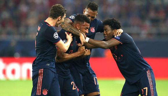 Bayern Munich venció 3-2 a Olympiacos por la jornada 3 de la Champions. (Getty)