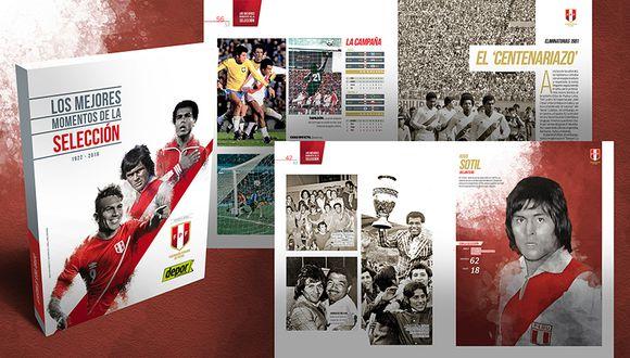 Depor te trae la revista histórica de la Selección Peruana de Fútbol