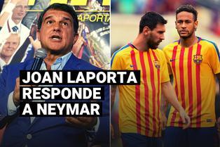 Laporta responde a las declaraciones de Neymar sobre el tema de Messi