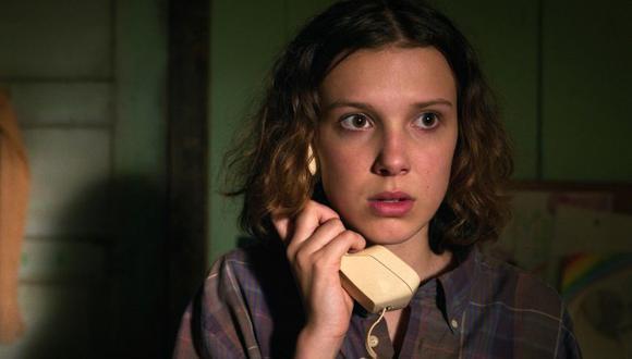"""Eleven es interpretada por Millie Bobby Brown en """"Stranger Things"""", la exitosa serie de Netflix. (Foto: Netflix)"""
