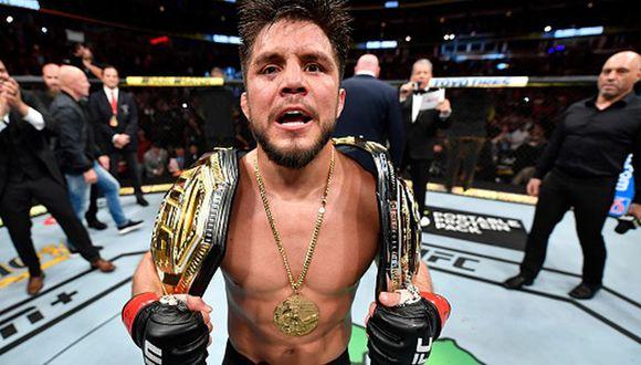 Henry Cejudo sumó su victoria número 16 como peleador profesional. (Captura)