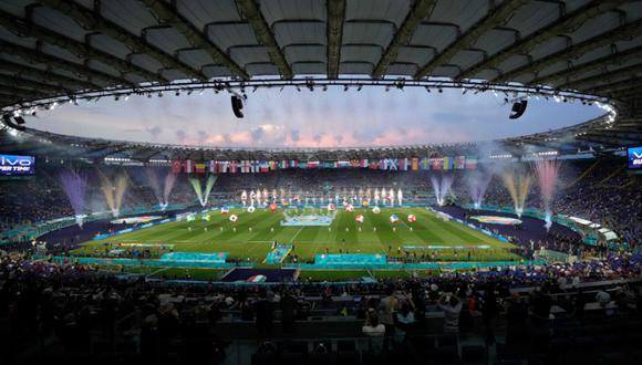 Bocelli y Bono se robaron los aplausos en la ceremonia de inauguración de la Eurocopa. (@Euro2020)