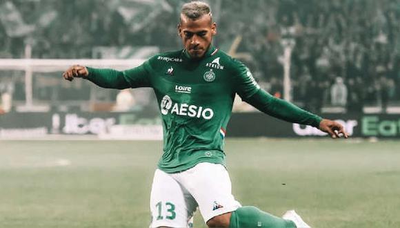 Miguel Trauco se estrenó en la Ligue 1 2021-2022. (Foto: Prensa Saint Etienne)
