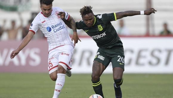 Atlético Nacional igualó ante Huracán y avanzó a la Fase 2 de la Copa Sudamericana 2020.