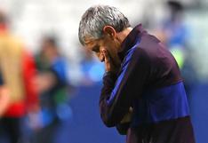 """""""El segundo entrenador parecía dirigir los partidos y no usted"""": revelan carta del Barça a Setién"""