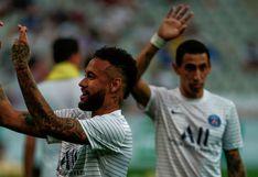 ¿Qué quisiste decir, 'Ney'? El curioso gesto del brasileño en la previa del PSG vs. Lyon [FOTO]