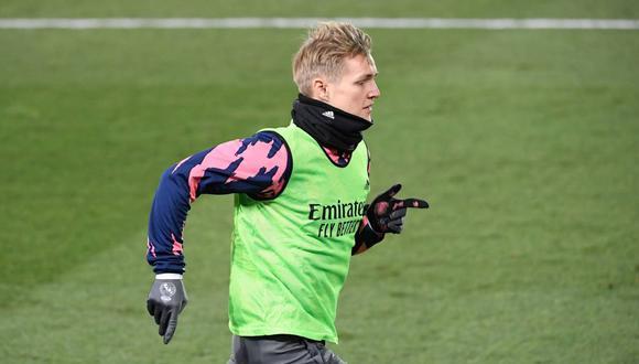 Martín Odegaard se marchará cedido al Arsenal hasta final de temporada. (Foto: AFP)