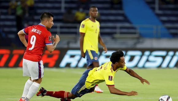 Colombia vs. Chile (3-1): resumen, goles de Borja, video y mejores jugadas  por Eliminatorias Qatar 2022 | FUTBOL-INTERNACIONAL | DEPOR