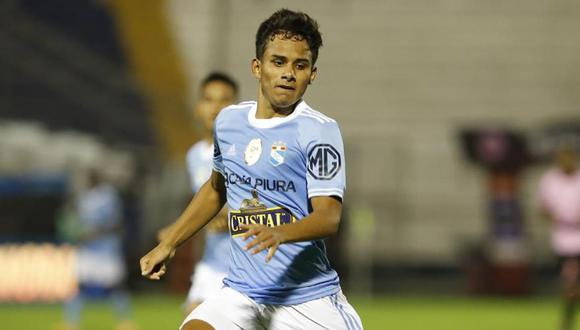 Jhilmar Lora juega en Sporting Cristal desde los 11 años. (Foto: Liga 1)