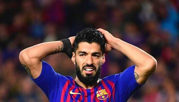 Luis Suárez aún tiene un año más de contrato con el FC Barcelona. (Foto: AFP)