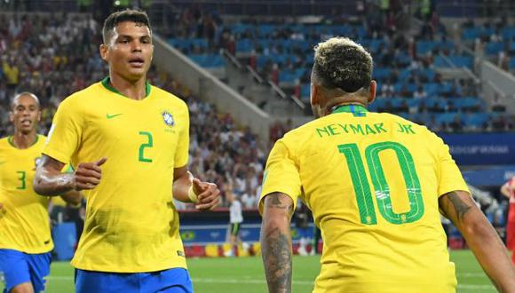 Thiago Silva habló de los hinchas brasileño que apoyarán a Argentina. (Foto: AFP)