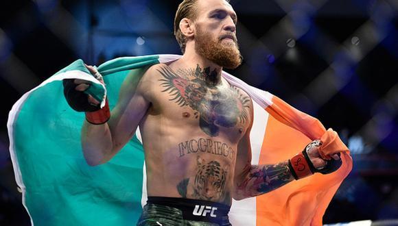 Pelea de Conor McGregor se realizará en la isla privada de UFC en enero del 2021. (Zuffa LLC)