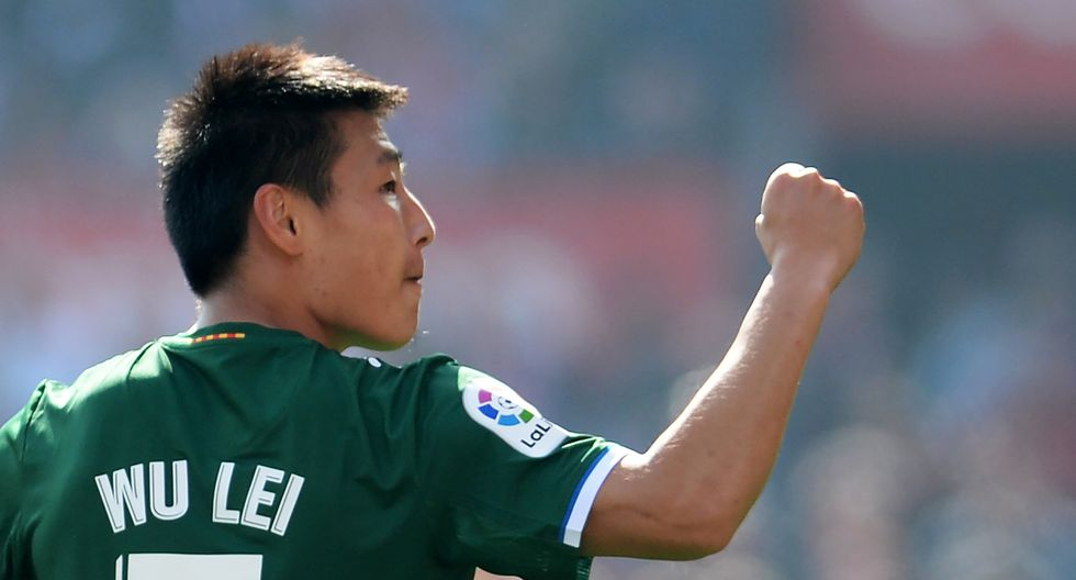 Wu Lei / Espanyol (Foto: AFP)