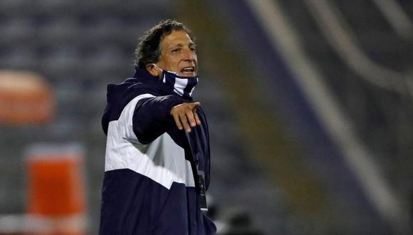 Mario Salas es el actual técnico del primer equipo de Alianza Lima. (GEC)