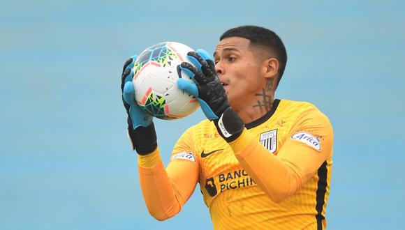 Campos lleva tres partidos sin recibir goles en Alianza Lima. (Foto: Liga 1)