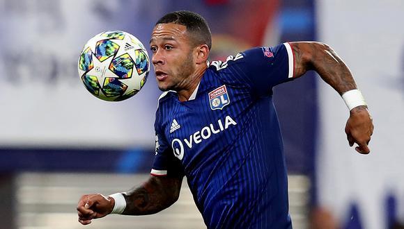 Memphis Depay llegó a las semifinales de Champions League con Lyon. (Foto: AFP)