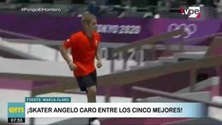 Top 5: peruano Angelo Caro entre los mejores skaters de Tokio 2020