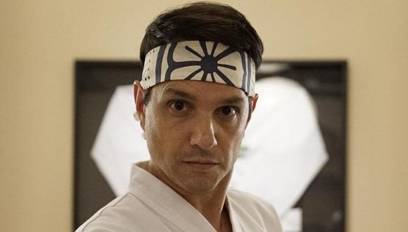 """Ralph Macchio está de regreso con su icónico personaje de Daniel LaRusso en """"Cobra Kai"""", la exitosa serie de Netflix. (Foto: Netflix)"""