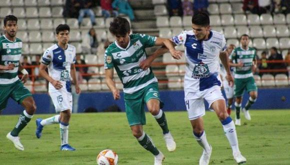 Pachuca venció 2-0 a Santos Laguna por la Copa MX Apertura 2018. (Twitter)