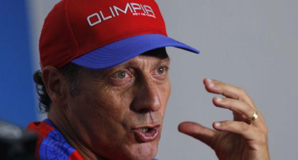 Pedro Troglio es entrenador del Olimpia de Honduras desde junio pasado. (Foto: AFP)