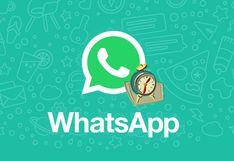 WhatsApp: de esta manera podrás programar mensajes en la aplicación