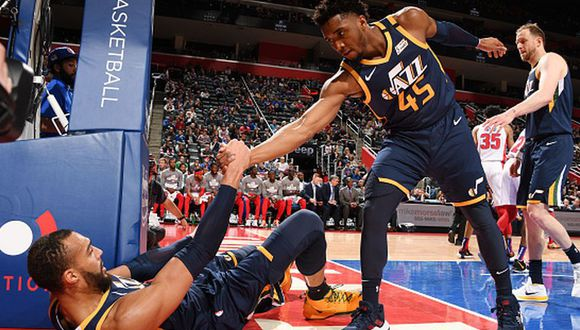 Donovan Mitchell se convirtió en el segundo jugador de la NBA con coronavirus. (Getty Images)