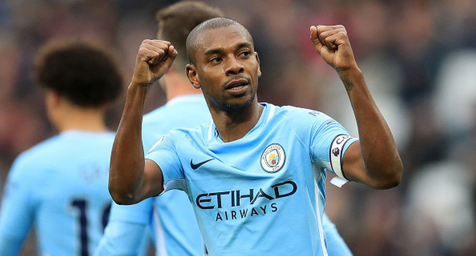 Fernandinho. (Getty Images)