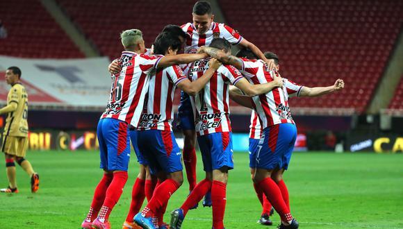 Chivas vs. Pumas se vieron las caras este domingo por la fecha 8 de la Liga MX 2021 (Foto: @Chivas)