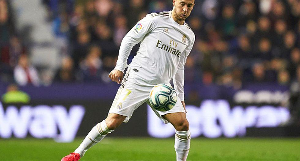 Eden Hazard no ha podido jugar ningún Clásico con Real Madrid. (Foto: Getty Images)