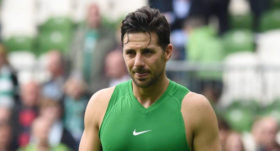 Claudio Pizarro sería sancionado por Werder Bremen debido a recientes actitudes del peruano. (Foto: EFE)
