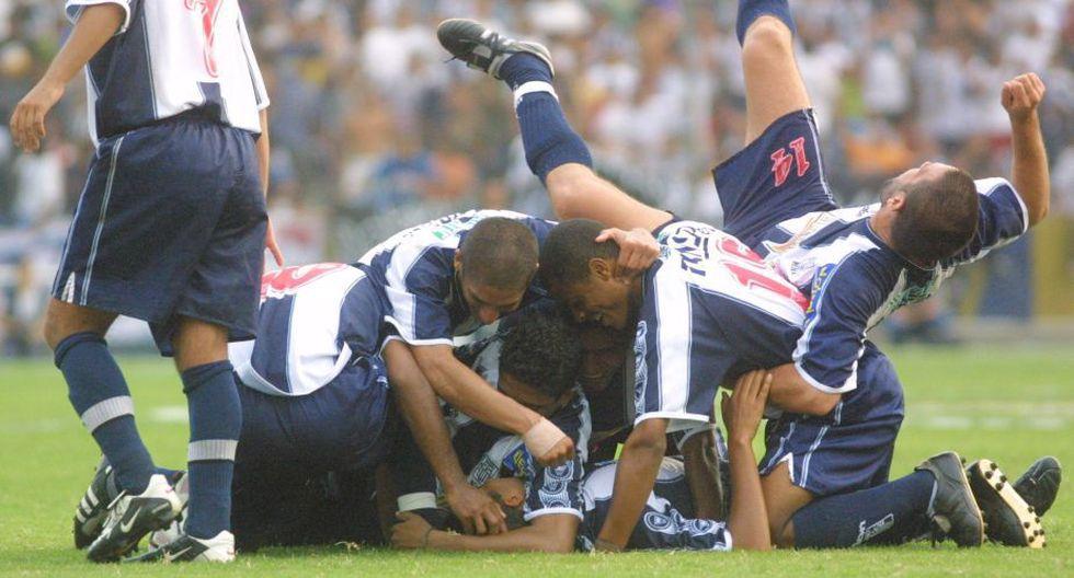 Alianza Lima vs. Sporting Cristal: 18 años de la goleada blanquiazul (Foto: GEC)