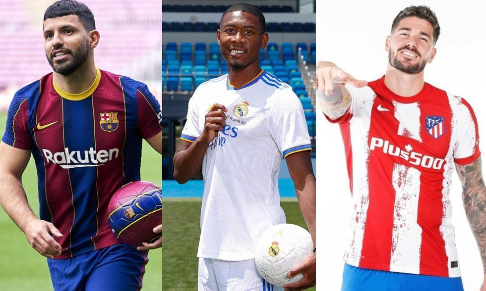 Los fichajes más destacados de la temporada 2021-2022. (Fotos: Agencias)
