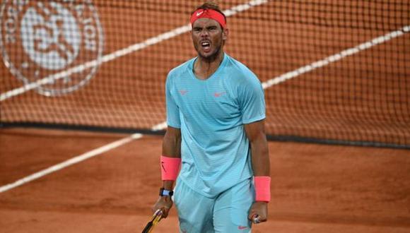Nadal derrotó a Schwartzman y jugará su décimo tercera final del Roland Garros. (Twitter)