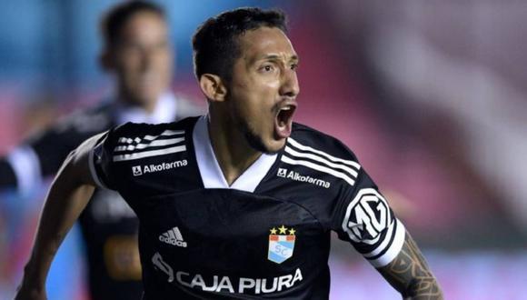 Christofer Gonzales marcó un golazo que le dio la clasificación a Sporting Cristal en la Copa Sudamericana. (Foto: Agencias)