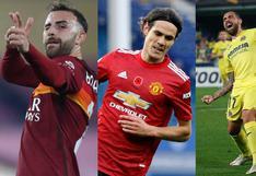 Cavani puede terminar en la cima: goleadores de la Europa League a falta de la final [FOTOS]