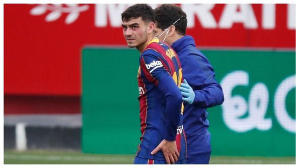 El Barcelona confirmó la lesión que sufre Pedri. (Foto: Marca)