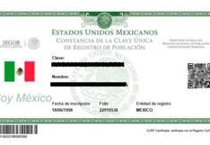 CURP 2021: entérate los lugares para tramitar el certificado y cómo usarlo en México