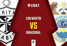 Vía GOLPERU: San Martín vs. Binacional EN VIVO EN DIRECTO por la fecha 2 de la Fase II