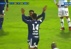 Cerró con broche de oro: Jhilmar Lobatón debutó y anotó el 6-3 del duelo entre Cristal y Binacional [VIDEO]