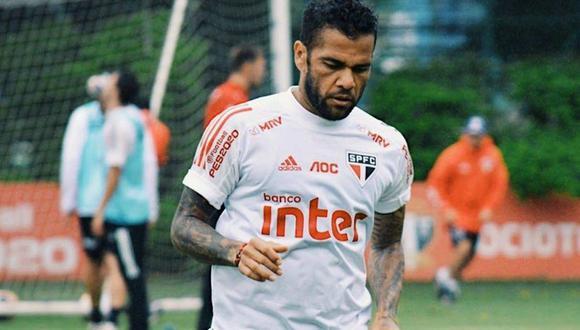 Dani Alves llegó a Sao Paulo en la temporada 2019. (Foto: @SaoPauloFC_esp)