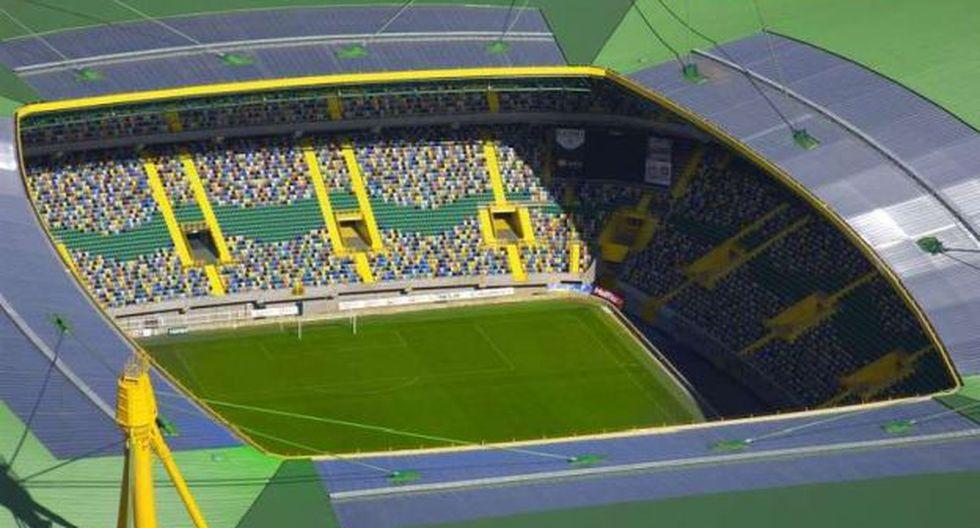 El mejor homenaje: Sporting de Lisboa planea ponerle el nombre de Cristiano Ronaldo a su estadio. (EFE)