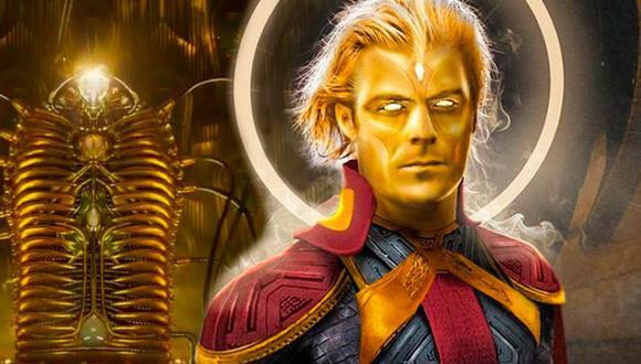 Adam Warlock es un eterno que fue creado por el Enclave, un grupo de científicos con el objetivo de crear el ser humano perfecto (Foto: Marvel Comics)
