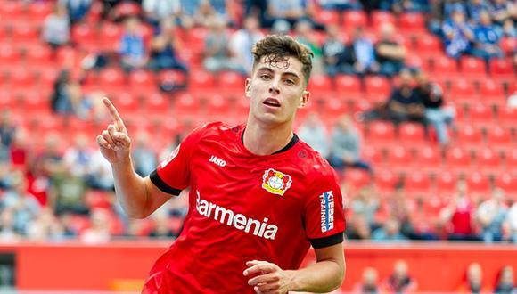 Kai Havertz tiene 21 años y es uno de los indiscutibles del Bayer Leverkusen. (Getty)