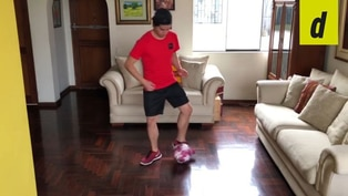 Fútbol en casa: tres ejercicios básicos para mejorar tu habilidad con el balón