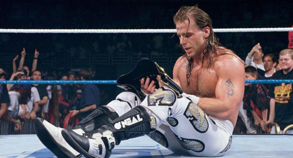 Shawn Michaels con el título de la WWE. (WWE)
