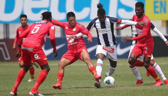Alianza Lima vs. Sport Huancayo en Villa El Salvador. (Foto: Liga 1)