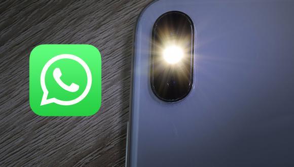¿Quieres que el flash de tu celular se encienda cuando recibas un mensaje de WhatsApp? (Foto: Enter.co)