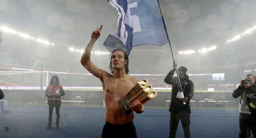 Edinson Cavani llegó al cuadro del PSG en 2013 procedente del Napoli. (Foto: Getty Images)