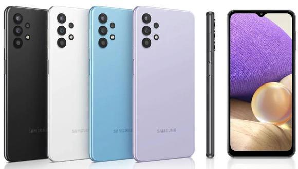 Revisa todo lo que trae el Samsung Galaxy A32 en este unboxing